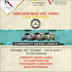 Mercedes Benz Vito Viano Club Indonesia Community Grand Launch