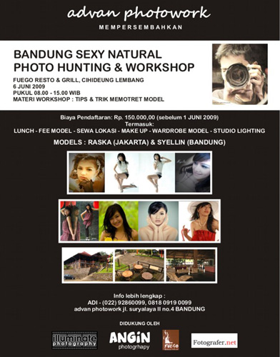 Ayofoto Event Bandung Sexy Nature Photo Hunting