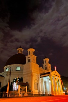 Night at Gereja Blendug